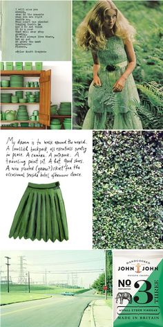 Emerald mood board  #mood #board #design #inspiration #art