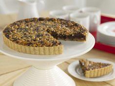 Chocolate-Hazelnut Tart Recipe : Giada De Laurentiis : Food Network - FoodNetwork.com