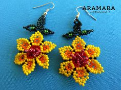 Dimension Necklaces length is 18 inches cms) from point to point Necklaces hanging length is inches cms) Diameter of each flower is inches cms) Earringss length inches cms) The Huichol represent one of the few remaining indigenous cultures left in Beaded Earrings, Crochet Earrings, Drop Earrings, Is 11, 6 Inches, Beadwork, Necklace Lengths, Amanda, Inspire