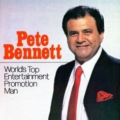 "Peter Bennett (May 10, 1935-November 22, 2012)  a self made musical promoter. Born Pietro Benedetto, he was raised in The Bronx, New York.  Manager for The Beatles and Apple Corps. He was the man who ""made unknowns into stars and stars into superstars,"" he has the distinction of being the only promotions manager to work simultaneously with the Beatles, the Rolling Stones, Elvis, Bob Dylan, Frank Sinatra and Tony Bennett."