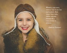 Mother photographs her daughter dressed-up as female role models in empowering photo series