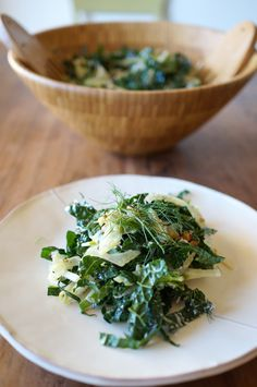 Kale, Fennel & Apple salad!