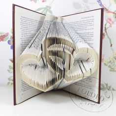 Inter-linked Hearts - The Folded Page