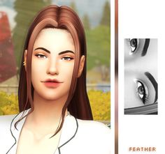 """feather-sim: """"  ⛅️ honeymoon eyeshadow ⛅️ inspired by these etude house eyeshadows and @mysteriousdane's lovely palettes, here's 10 neutral to smoky eyeshadows for your sims :-) shades range from baby pink to deep cocoa. i really enjoyed making this,..."""