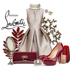 """Christian Louboutin"" by laaudra-rasco on Polyvore"
