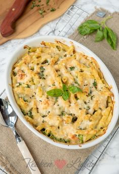 I Love Food, Good Food, Yummy Food, Pot Pasta, Oven Dishes, Good Healthy Recipes, Italian Recipes, Macaroni And Cheese, Brunch
