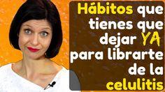 Hábitos que tienes que dejar ya para deshacerte de la celulitis ⭐⭐⭐⭐⭐