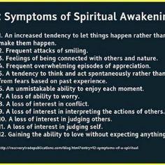 Symptoms of Spiritual Awakening!!! WOW WOW WOW YAAAAYYYYYYY