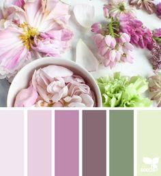 flora hues  #paintpalettes #pastels