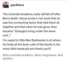 it would be interesting to see life before ben died It Netflix, Shows On Netflix, Dysfunctional Family, Under My Umbrella, Funny Babies, Pokemon, Just In Case, Movie Tv, Fandoms