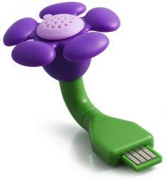 Product Farm Store - USB Scent Flower - Purple Lavender, $9.99 (http://store.theproductfarm.com/usb-scent-flower-purple-lavender/)
