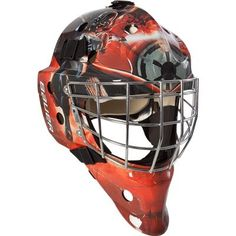 Bauer NME 3 Star Wars Decal Goalie Mask-Darth Vader