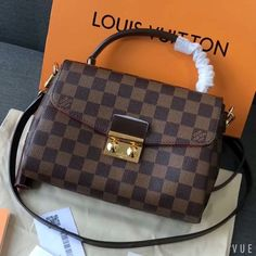 Louis Vuitton lv croisette Louis Vuitton lv croisette bag original leather – Purses And Handbags Totes Louis Vuitton Handbags Black, Sacs Louis Vuiton, New Handbags, Fashion Handbags, Purses And Handbags, Luxury Bags, Authentic Louis Vuitton, Bag Accessories, Women's Handbags