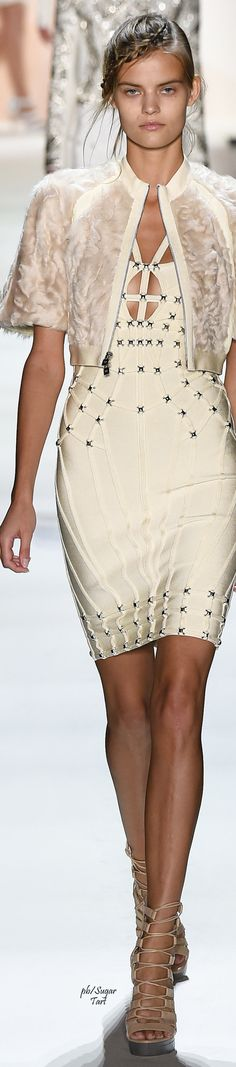 Herve Leger by Max Azria Spring 2016 RTW