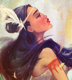 Disney Tattoos Pocahontas, Pocahontas Pictures, Pocahontas Drawing, Disney Fan Art, Disney Love, Ariel Disney, Disney Stuff, Aladdin, Cartoon Edits