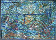 MOSAIC ART COMMISSIONS FOR THE HOME, PORTFOLIO OF FINE ART MOSAICS, CONTEMPORARY MOSAIC ART