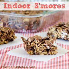 Indoor S'mores | realmomkitchen.com