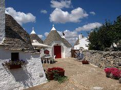 I trulli-Alberobello-