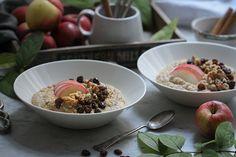 Winter Frühstück: Quinoa-Apfelkuchen-Porridge