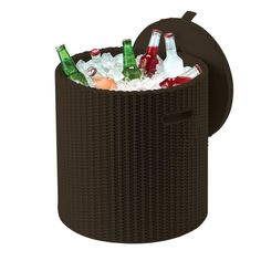 Buy Keter Cool Stool Rattan Effect Storage Box - Graphite at Argos. Thousands of products for same day delivery or fast store collection. Resin Patio Furniture, Garden Furniture, Outdoor Furniture, Birthday Presents For Dad, Outdoor Stools, Outside Patio, Comfort Design, Vejle, Garden Items