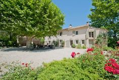 Lovely, Provençal vacation rental house set in open countryside and only 15 minutes from Avignon, one of the most visited towns in France. www.purefrance.com