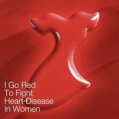 Wearing red today!  Today is the Day to Go Red! Help spread awareness of heart disease in women.