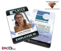 CATCO Worldwide Media 'Supergirl' Kara Danvers Employee ID