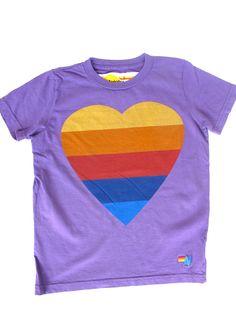 Heart t-shirt by Aviator Nation