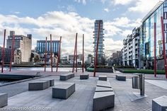 The Grand Canal Square - Dublin Docklands