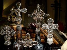 Greyfreth Cross Bottles--The Amber Collection--