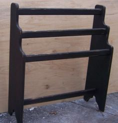 "This Standing Quilt Rack will be a nice way to display you favorite quilts!    Measures approximately 36"" H x 30"" W x 9.25 D."