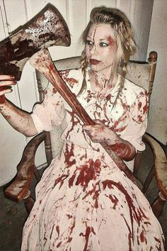 7 Cool Scary Halloween Costume Ideas For Girls Women 2013 2014 - don't care for the first 3 but the rest is good