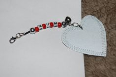 Mum safety reflector accessory by leonorafi on Etsy