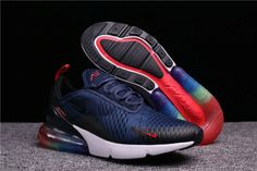 afdafbb5715 2018 athletes Nike Air Max 270 Womens Shoes Dark Blue Black Red all can  continue to work hard