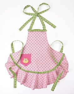 I pinned this Happy Owl Apron from the Coco's Kitchen event at Joss and Main! Retro Apron, Aprons Vintage, Happy Owl, Peking, Cool Aprons, Custom Aprons, Childrens Aprons, Linen Apron, Apron Diy