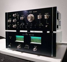 Sansui Pre & Power Amplifiers