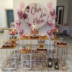 Lingerie Rosa, Baby Shower Themes, Rose Gold, Table Decorations, Sweet, Party, Manta Ray, Corporate Events, Fiesta Party