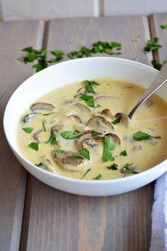Homemade Cream of Mushroom Soup   @AnotherRoot