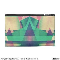 Navajo Design Travel Accessory Bag