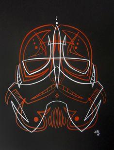 Pinstriping and Kustom Kulture Vrod Custom, Custom Moto, Pinstripe Art, Pinstriping Designs, Airbrush Art, Star Wars Art, Painted Signs, Custom Paint, Cool Art