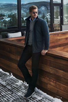 Peter Millar Jacket, Sweater & Shirt