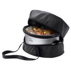 Shop the Crock-Pot® Slow Cooker Travel Bag, Black at Crock-Pot.com. If It Doesn't Say Crock-Pot®, It's Not The Original.