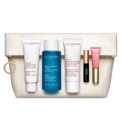 Clarins Skincare and Make-Up Collection Beauty Must-Haves Gift Set - Boots
