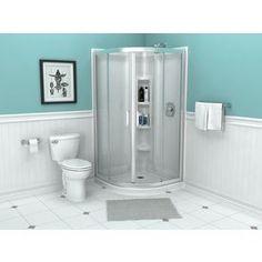 American Standard Axis Framed Silver Shower Door
