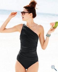Miraclesuit® Single-Shoulder One-Piece Swimsuit  $148.00