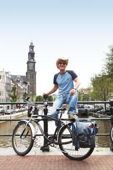 Doing Amsterdam the Dutch Way - Amsterdam, bicycle, Prinsengracht, Netherlands, Europe