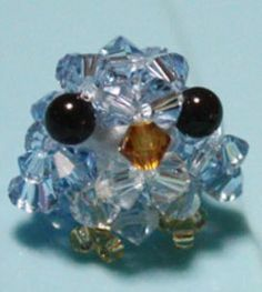 Beaded Baby Bird - is this not the cutest thing in the world?!