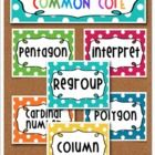This math academic vocabulary list is based on the Common Core Second Grade Math Standards.This bright and fun rainbow polka dot set includes 128...