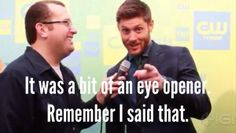 And it was Jensen...It was!!