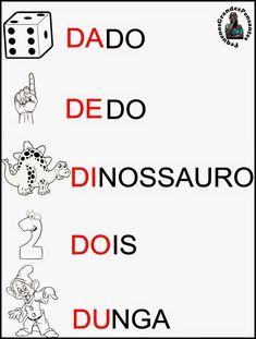 Cartaz Família Silábica do D